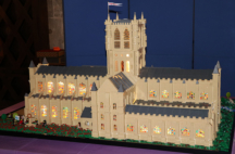 Model of St Mary's Abbey, Cirencester