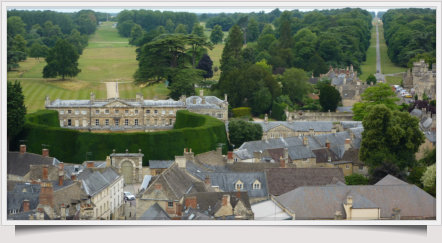 cirencester Park from St John's tower. Picture A Buffoni