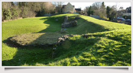 Cirencester's Roman Wall. Picture A Buffoni