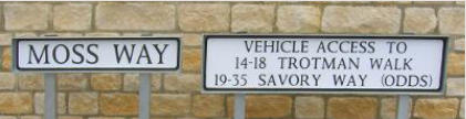 Cirencester Street Names. Picture D Viner